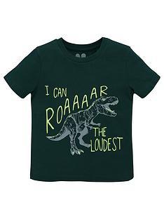 v-by-very-boys-short-sleeve-roar-the-loudest-t-shirt-green