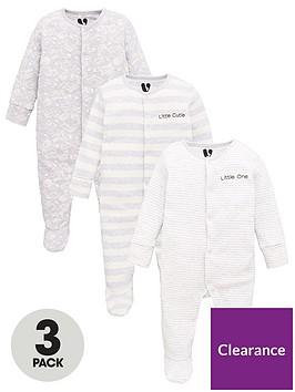 v-by-very-baby-unisex-3-pack-stripe-amp-fox-sleepsuits-multi