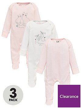 v-by-very-baby-girl-3-pack-mummy-and-me-sleepsuits-white
