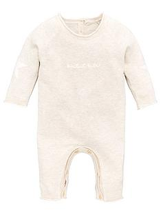 v-by-very-baby-unisex-lsquopetit-bebersquo-star-detail-knitted-romper-suit-oatmeal