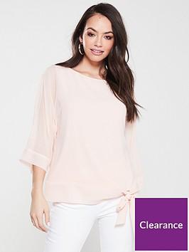 wallis-tie-side-overlayer-blouse
