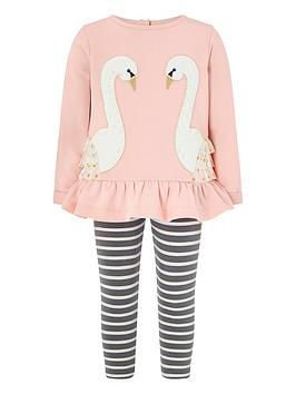 monsoon-baby-swan-sweat-set-pink