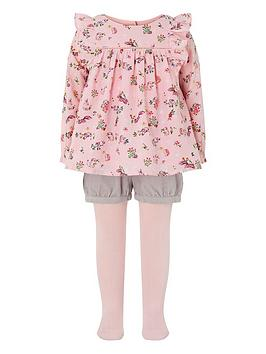 monsoon-baby-verana-bunny-3-piece-set-pink