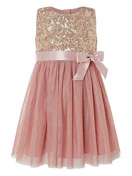 monsoon-baby-truth-foil-spot-dress-pink