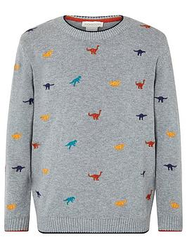 monsoon-eric-dino-embroidered-knitted-jumper-grey