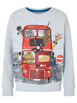 monsoon-barney-bus-sweatshirt-grey
