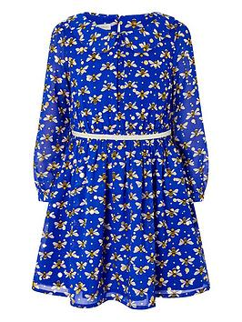 monsoon-buzz-bee-foil-dress-blue