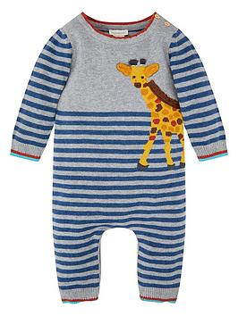 monsoon-baby-marlow-giraffe-sleepsuit-navy