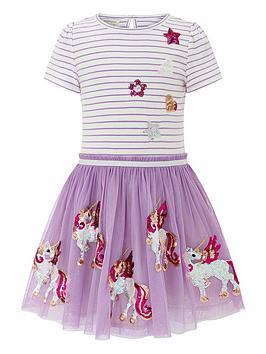 monsoon-disco-suki-unicorn-dress-lilac