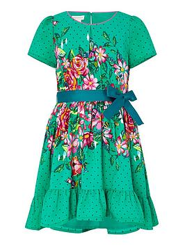 monsoon-brielle-curved-dress-green