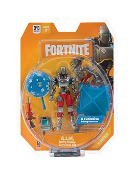 Fortnite   1 Figure Pack Early Game Survival Kit C A I M S3