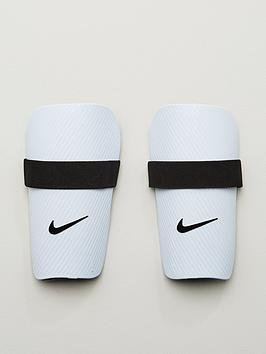 Nike   Kids Ce Slip In Shin Guards - White