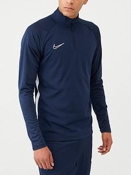 Nike Nike Academy Dry Drill Top - Navy Picture