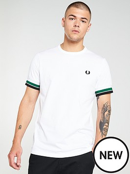 fred-perry-bold-tipped-t-shirt-white
