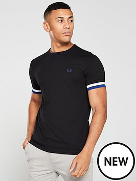 fred-perry-bold-tipped-t-shirt-black