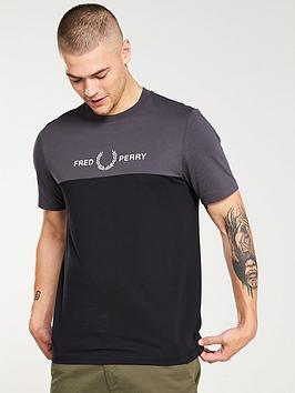 fred-perry-block-graphic-t-shirt-gunmetalblack