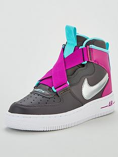 nike-air-force-1-highness-junior-trainer-greysilver