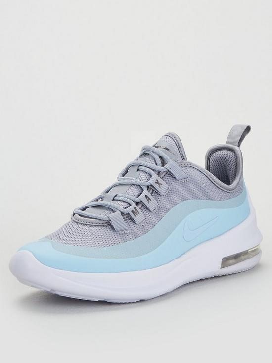 Air Max Axis Junior Trainers - Grey/Blue