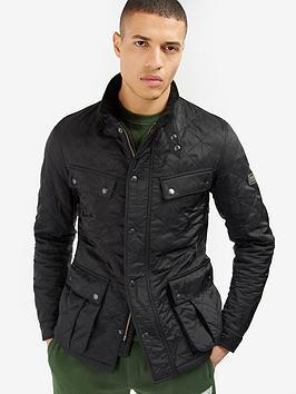Barbour International Barbour International Ariel Polarquilt Jacket - Black Picture