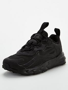 nike-air-max-270-react-toddler-trainers-black