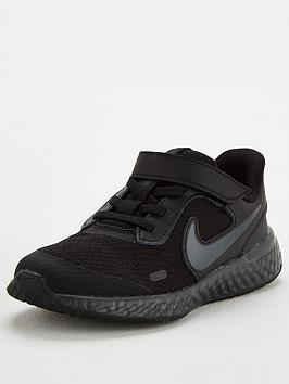 Nike Nike Revolution 5 Childrens Trainers - Black Picture