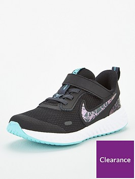 nike-revolution-5-rebel-childrens-trainers-black