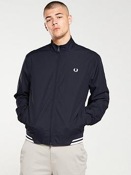 Fred Perry Fred Perry Twin Tipped Sports Jacket - Navy Picture
