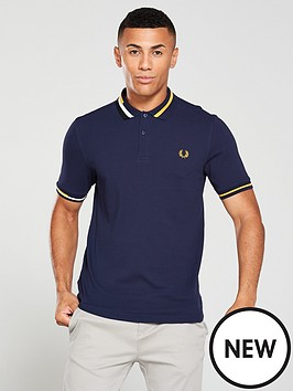 fred-perry-abstract-collar-pique-polo-shirt-carbon-blue