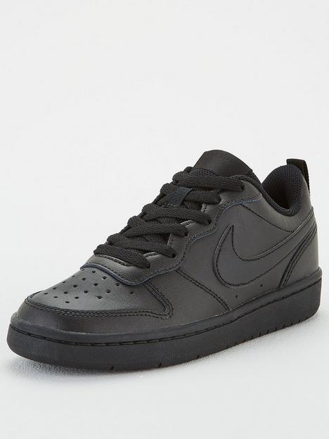 nike-court-borough-low-2-junior-trainer-black