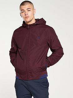fred-perry-tipped-hooded-sports-jacket-oxblood