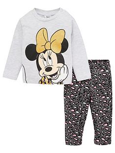minnie-mouse-baby-girls-2-piece-leopard-sparkle-outfit-multi
