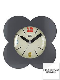 orla-kiely-house-flower-alarm-clock-charcoal