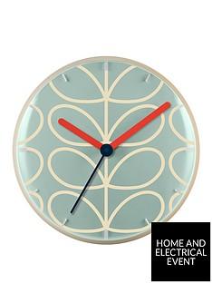 orla-kiely-house-linear-stem-wall-clock