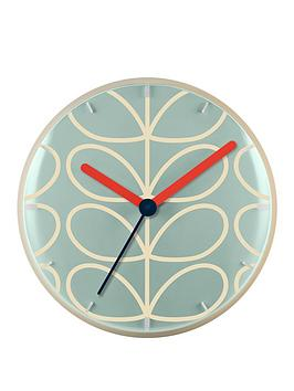 Orla Kiely House Orla Kiely House Linear Stem Wall Clock Picture