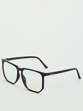 quay-australia-x-chrissy-stranger-blue-light-square-glasses