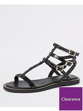 river-island-river-island-stud-gladiator-sandals-black