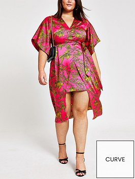 ri-plus-printed-midi-dress-pink