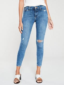 river-island-molly-ripped-knee-mid-rise-jeggings-mid-blue