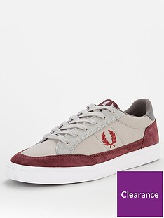 fred-perry-deuce-poly-suedeleather