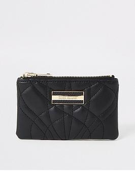 river-island-quilted-mini-purse-black