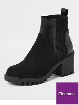 river-island-river-island-wide-fit-chunky-ankle-boots-black