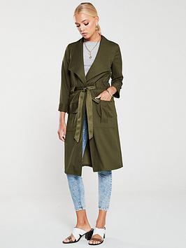 river-island-river-island-tie-waist-utility-duster-jacket-khaki