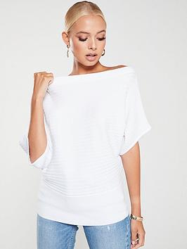 river-island-knitted-tee--white