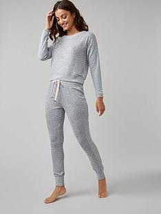 boux-avenue-nia-ribbed-lounge-joggers--nbspgrey-marl-mix