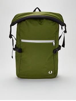 fred-perry-roll-top-back-pack
