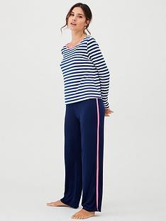 pour-moi-jersey-stripe-pyjama-set-navynbsp