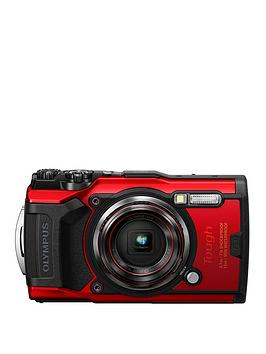 Olympus    Tg-6 Tough Camera Red 12Mp 4Xzoom 3.0Lcd Fhd Wtprf 15M