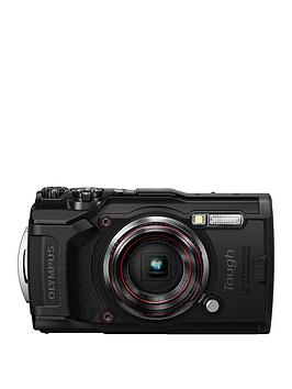 Olympus    Tg-6 Tough Camera - Black, 12Mp, 4Xzoom, 3 Inch Lcd Fhd, Waterproof 15M
