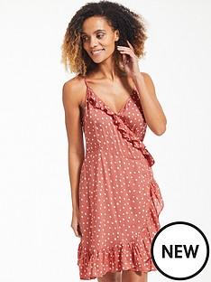 figleaves-sorrento-spot-midi-wrap-beach-dress-rust