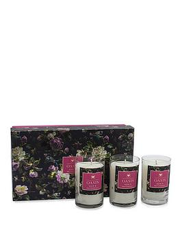 Oasis Home Oasis Home Renaissance Rose And Patchouli 3 Candle Gift Set Picture